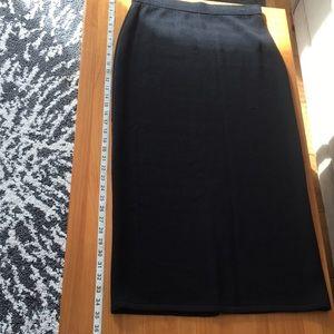 St John Long Knit Skirt